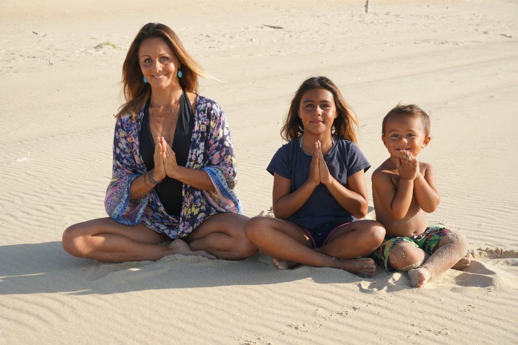 Caroline Beliard Yoga mama