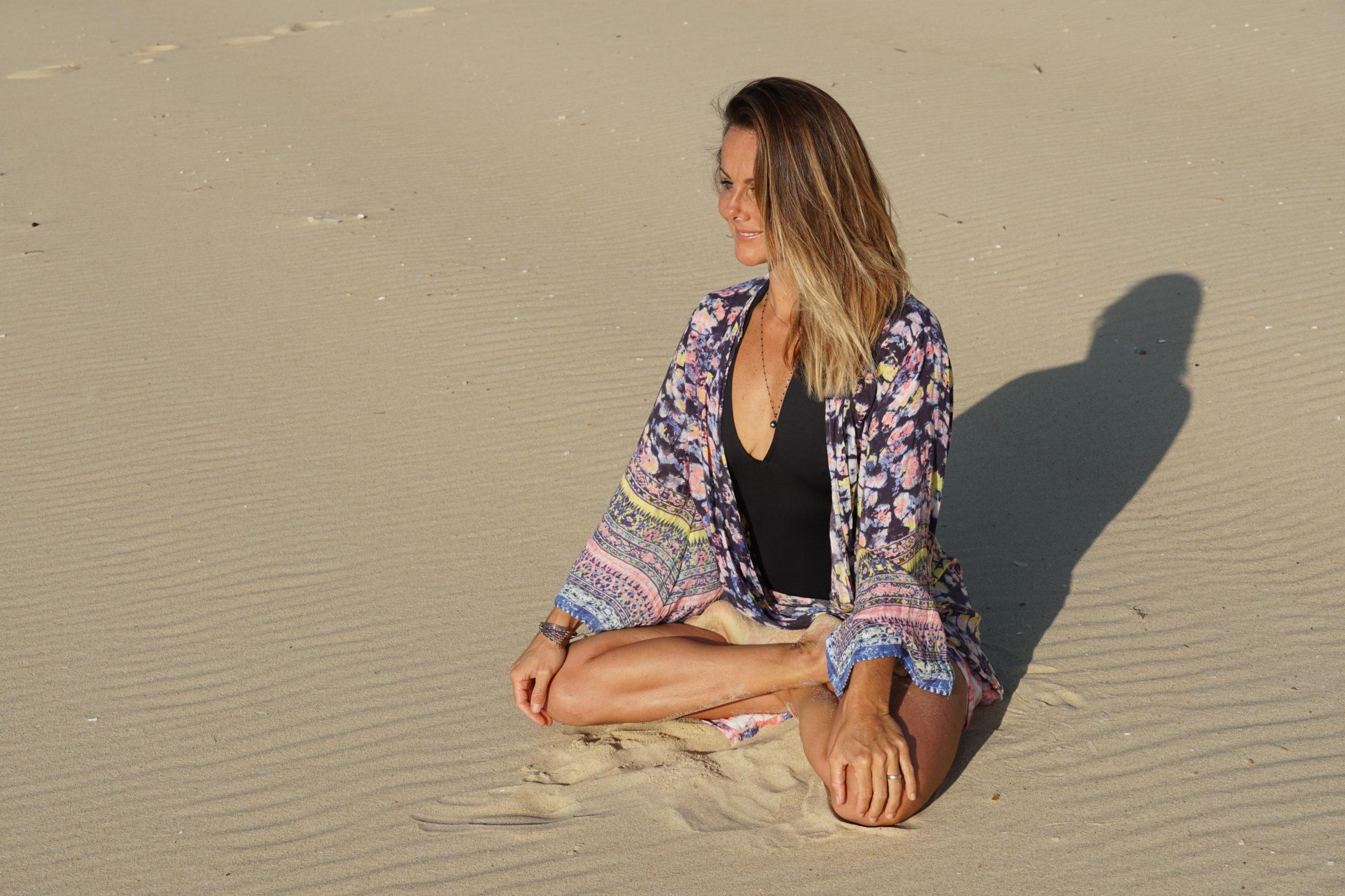 Caroline Beliard professeur de yoga Hossegor