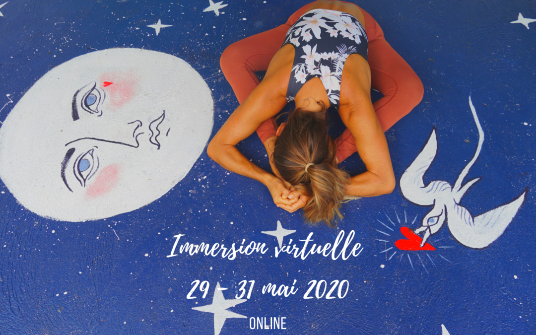 Immersion virtuelle 29-31mai 2020