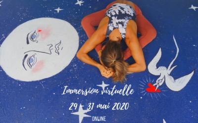 Immersion virtuelle 29-31mai 2020