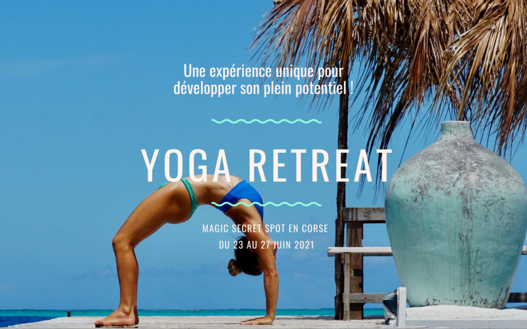 Immersion Yoga en Corse – 23 au 27 juin 2021
